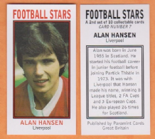 Liverpool Alan Hansen Scotland